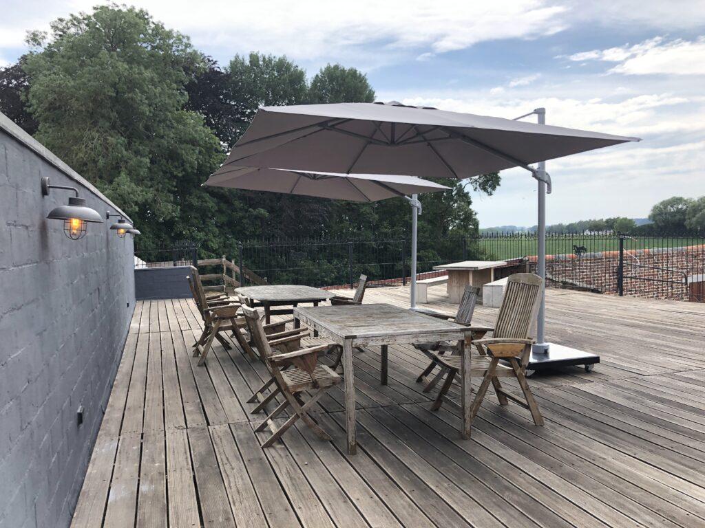 Ruim dakterras met fantastisch uitzicht